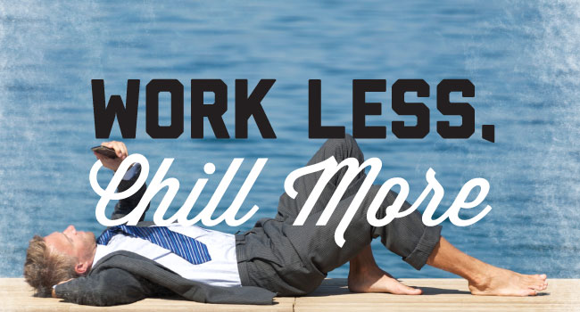 how to work less and accomplish more now git tran